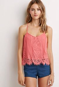 Embroidered Lace Tank from Forever 21 $17,90