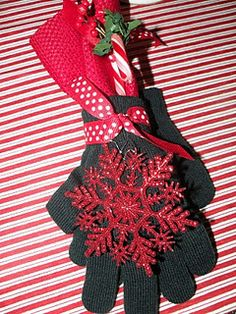 Wrap Christmas Gifts in Gloves!