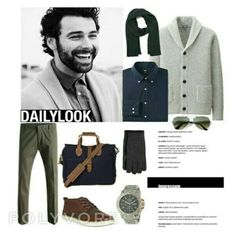 """Make my day"" by raffaellapapami on Polyvore featuring men's fashion and menswear"
