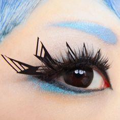 """They hate what they really love.""  --kawaii matsuge*DISLIKE DISLIKE*Paper false eyelashes --カワイイマツゲ*きらいきらい*紙製つけまつげ"