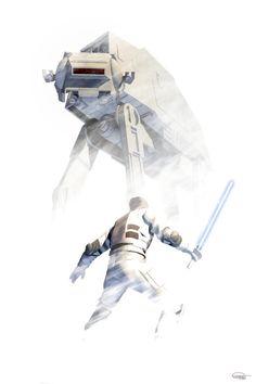 Hoth - AT-AT Created by Daniel Scott Gabriel Murray