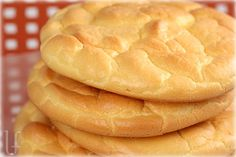 Super easy no carb cloud bread. I would highly suggest this to anyone on a low carb diet. I like to use a tsp of baking powder in it to make it more breadlike