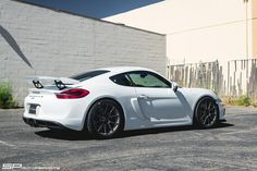This Porsche Cayman GT4 from California's SP Motorsports is equipped with a BBi…                                                                                                                                                                                 More