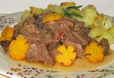 Gálosfalvi gombás vadmalac | NOSALTY Hungarian Cuisine, Hungarian Recipes, Pot Roast, Beef, Ethnic Recipes, Food, Carne Asada, Meat, Roast Beef