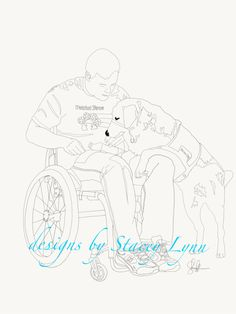 custom service dog coloring pages email pics for a quote to designsbystaceylynngmail