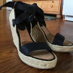 Enzo Angiolini Wedges Cute wedges never worn size 8m. Perfect for the summer very comfy! Enzo Angiolini Shoes Wedges