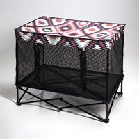 * Quik Shade Pets' Pet Kennel in Southwestern Blanket print *