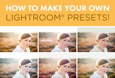 Making your own presets in Lightroom is super easy to do and can save you a TON of time in your RAW workflow. Bonus: you can save money with this DIY technique, and create totally original and unique recipes. When you create your own presets, you can make your photos look the way *you* want them to…