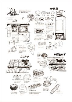 Simple Aesthetic, Aesthetic Art, Food Drawing, Drawing Tips, Sai Brushes, Fountain Pen Drawing, Food Sketch, Japanese Graphic Design, Bullet Journal Inspo