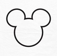 Mickey Mouse Outline, Mickey Mouse Quilt, Disney Quilt, Leather Working Patterns, Diy And Crafts, Crafts For Kids, Tumblr Stickers, Little Tattoos, Color Lines