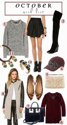 October Wish List {& Pretty Things}