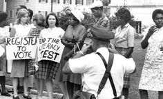 In the early 60's a literacy test was given to anyone in Louisiana that could not prove at least a 5th grade education and wanted to vote. Test takers had 10 minutes to complete the test, one wrong answer would result in an immediate failure of the test.