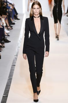 Mugler Spring 2015 RTW Runway at Paris Fashion Week #pfw