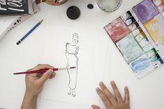 Victoria-Riza Fashion Illustrator