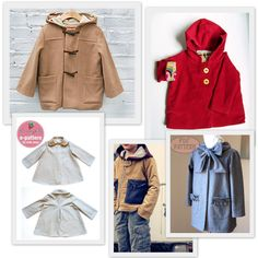 Back to School: 10 Jacket or Coat Sewing Patterns for Kids - A Sewing Journal - A Sewing Journal