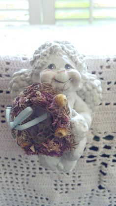 Vintage Dreamsicles Cherub Angel Cast Art By by PattiesPassion, $17.88