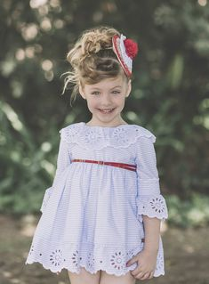 Cotton Frocks For Kids, Frocks For Girls, Little Girl Outfits, Kids Outfits, Vintage Kids Fashion, Kids Dress Wear, Baby Girl Skirts, Vintage Girls Dresses, Baby Dress Design
