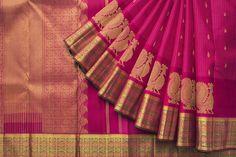 Hayagrivas Handwoven Kanjivaram Silk Sari 1021549
