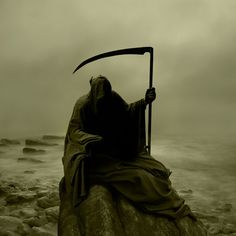 Wow! This is an amazing photo interpretation of the Reaper.