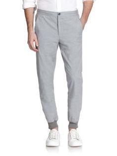 Vince Stretch Cotton Jogger Pants | Clothing