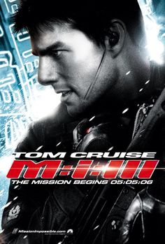 Mission Impossible series of movies. love these films, even though I am not a Tom Cruise fan. Fun movies <3