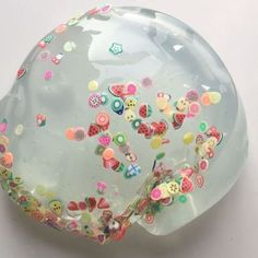 Awesome Clear Fruit slime!