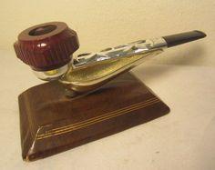 Vintage Nylon Straight Airograte Briar Estate Tobacco Smoking Pipe Unsmoked