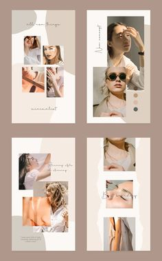 background colour blobs for image arrangement and colourscheme establishments Instagram Design, Instagram Grid, Story Instagram, Creative Instagram Stories, Instagram Story Template, Instagram Templates, Instagram Layouts, Instagram Banner, Portfolio Design Layouts