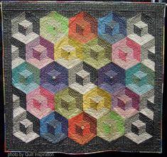 "Cubicles, 44 x 50"", by Edwina J. Ow (San Francisco, California)"
