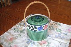 BEAUTIFUL VINTAGE 1940's Cracker Jar  10 by BESTBUYONLINES on Etsy, $11.00 10% Discount