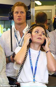 Prince Harry & Spice Girl Geri Haliwell...Nov 2014