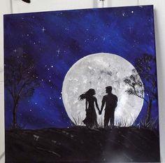 Moonlight Serenade  12X12     Unavailable