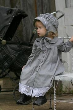 classy dress super cute should try and make this for the girls Precious Children, Beautiful Children, Beautiful Babies, Little People, Little Ones, Little Girls, Cute Kids, Cute Babies, 4 Kids