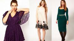 I vestiti eleganti per ragazze formose