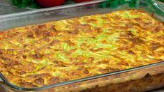 Familia mereu cere câte o porție suplimentară de budincă, fără să știe c... Vegetable Recipes, Family Meals, Lasagna, Macaroni And Cheese, Zucchini, Food And Drink, Cooking Recipes, Nutrition, Bread