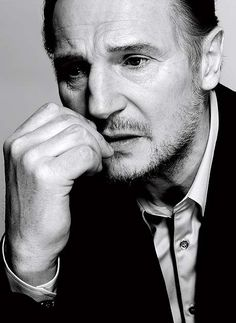 Liam Neeson | photo by Nigel Perry (Esquire)