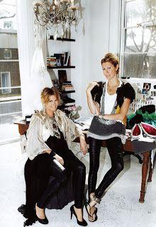 Sarah-Jane Clark(left) and Heidi Middleton(right), designers of Sass & Bide Pip Edwards, Style Me, Cool Style, Sass And Bide, Australian Fashion Designers, Star Fashion, High Fashion, Style Icons, How To Look Better