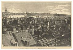 St.Rock Quebec after the fire 1870