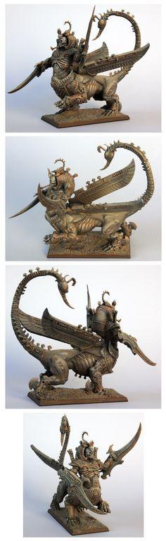 Tomb Kings Necrosphinx