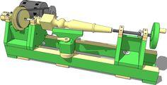 Wooden lathe plans