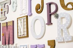 Wooden letters Wooden Alphabet Letters, Frame, Home Decor, Homemade Home Decor, Interior Design, Frames, Home Interiors, Decoration Home, Home Decoration