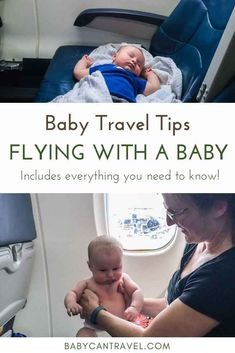 This Guide to Flying with Baby covers EVERYTHING you need to know! Flying with an infant, flying wit Travel Tips With Baby, Traveling With Baby, Travel With Kids, Traveling By Yourself, Baby Travel, Baby Tips, Family Travel, Baby On Plane, Flying With A Toddler