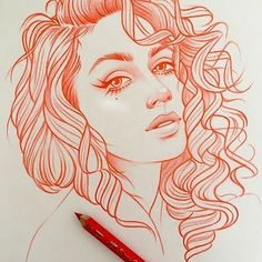 New illustrations, sketches and original art work by Rik Lee — Rik Lee - draw - Amazing Drawings, Cool Art Drawings, Pencil Art Drawings, Pretty Drawings, Rik Lee, Girl Drawing Sketches, Drawing Ideas, Arte Sketchbook, Art And Illustration