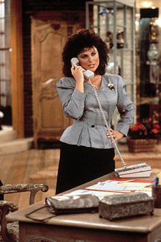 Delta Burke as Suzanna Sugarbaker in <i>Designing Women</i>