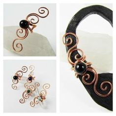 Swirly Ear Cuff Tutorial