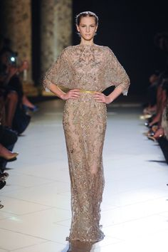 Elie Saab at Couture Fall 2012 - Runway Photos
