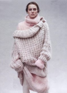 Mes Demoiselles... Knitted sweater CHANCE & knitted top CATY