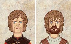 Game of Thrones : les personnages Avant/Après en Gifs - Buzzinbox