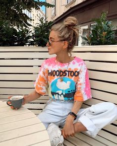 Hair Up Or Down, Up Hairstyles, Frost, Tie Dye, Hipster, Style Inspiration, Photo And Video, My Style, Fitness