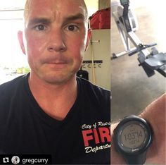FIREFIGHTER FITNESS  #Repost @gregcurry  Brutal partner workout this morning with Tony Bones.  Cal Row/Burpees  100-90-80-70-60-50-40-30-20-10  alternate every 10 cal/reps     Want to be featured? Show us how you train hard and do work   Use #555fitness in your post. You can learn more about us and our charity by visiting WWW.555FITNESS.ORG  #fire #fitness #firefighter #firefighterfitness #firehouse #buildingastrongerbrotherhood #workout #ems #engine #truckie #firetruck #pastparallel…